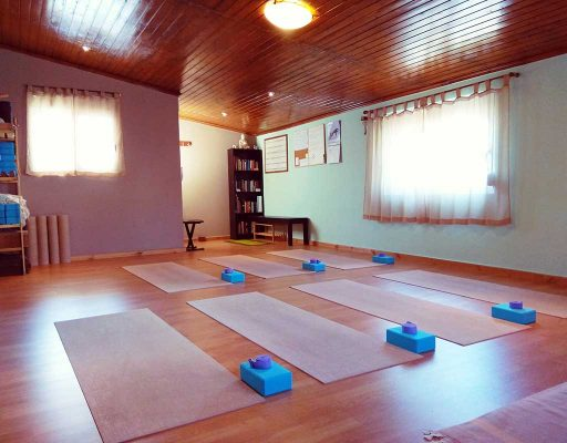 yoga mala studio space inside