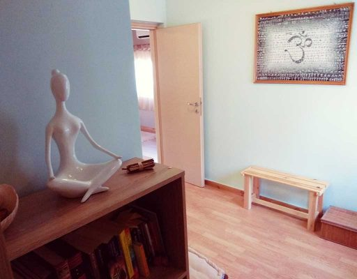 yoga mala studio space changing rooms