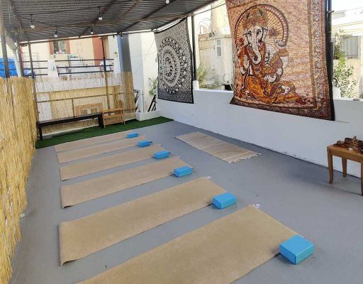 yoga mala studio space terrace